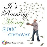 It's Raining Money-Visa Gift Card Giveaway!!