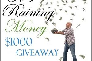 It's Raining Money-Visa Gift Card Giveaway!!