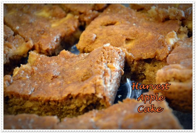 Harvest Apple Cake