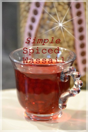 Simple Spiced Wassail