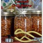 Home Canned Chili Beans