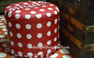 Three Things {Favorite Finds No. 3} Ottoman, Whisk, Leggings