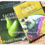 Sacred Marriage and Where Did God Come From {Giveaway}