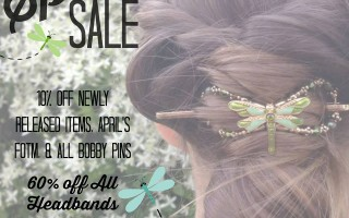 Spring Sale at Lilla Rose and the April Flexi 2015