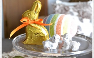 Quick and Simple: Detailing a Chocolate Bunny