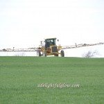 Spraying With a Sprayer