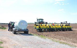 The Farmer Plants Corn