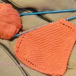 Yarn Along…Dishcloths and the Penderwicks