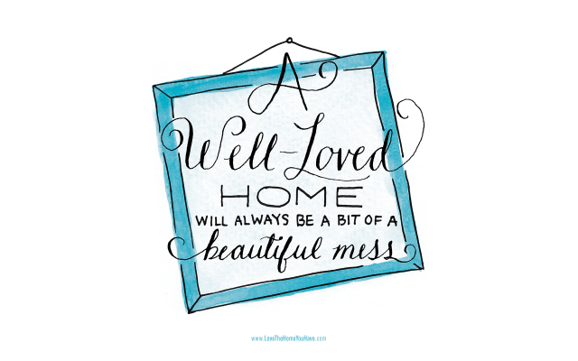 Love the home you have giveaway a delightful glow for Love the house you have