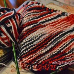 Yarn Along {Keep It Shut and Truck Jam and a Dishcloth, Of Course}