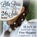 December 26 Sale at Lilla Rose