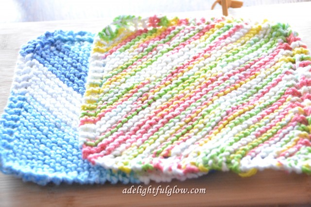Hand Knitted Dishcloths