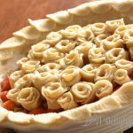 In the Farmhouse Kitchen: Rosey Rhubarb Strawberry Pie with Gluten Free Crust
