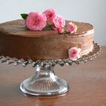 Cake and Roses and Fudgy Frosting