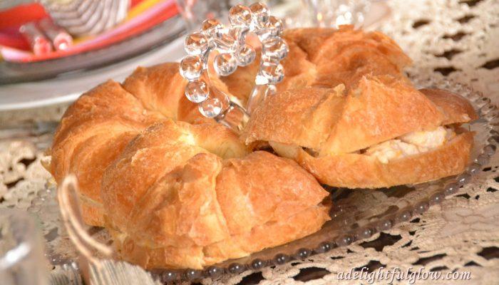Savory Chicken Crescent Sandwiches