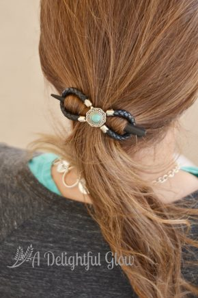 Braided 8 Turquoise