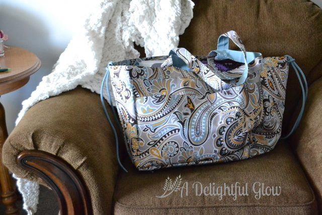 Knitting Projects bag