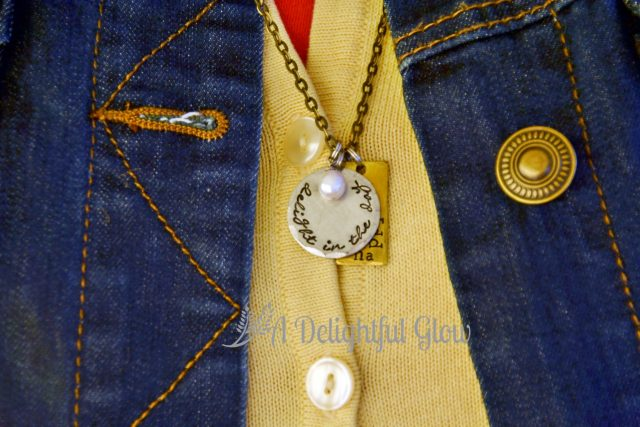 Delight in the Day Necklace