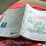 When Jesus Was a Green-Eyed Brunette By Max Davis Giveaway