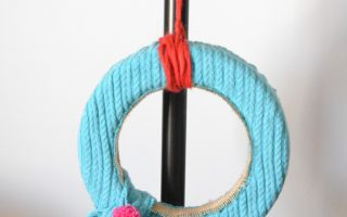 Yarn Along {Sweater Wreath and The Daily Grace Co.}