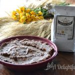 Teff Flour Chocolate Brownie Pie