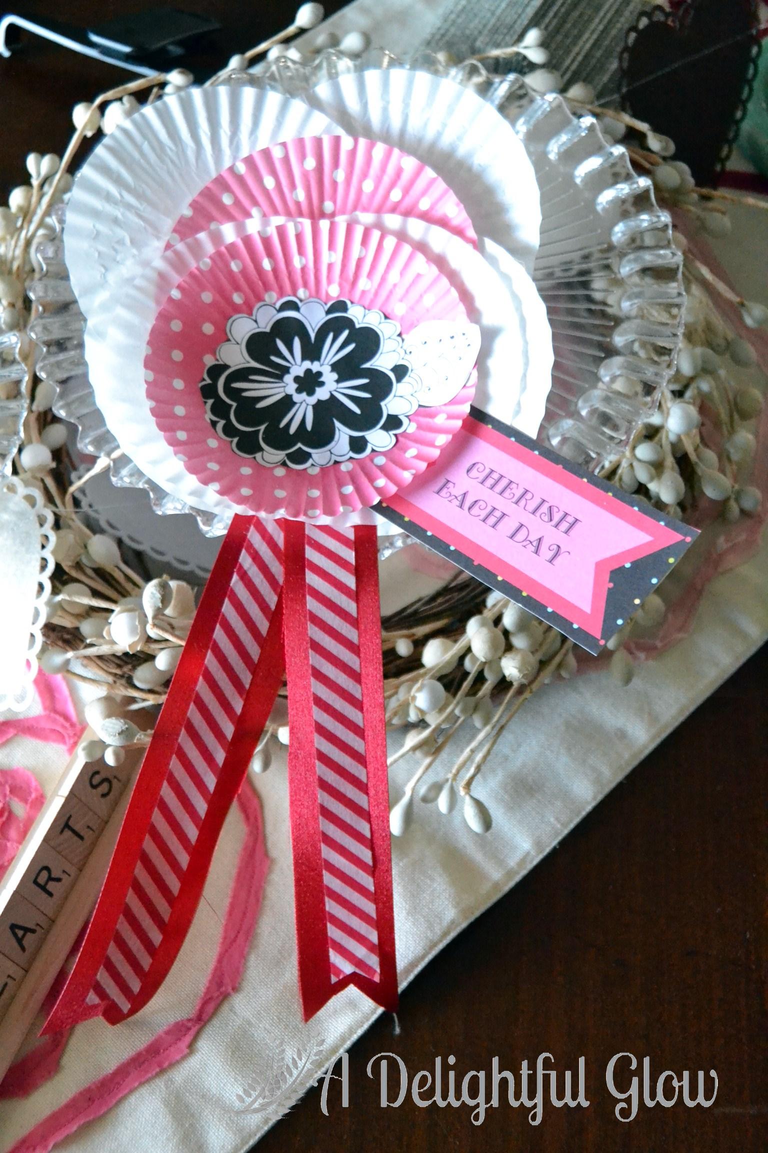 Valentine Prize Ribbons ⋆ A Delightful Glow