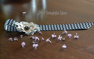 Ribbon and Flower Bookmarks