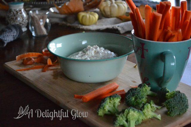 Very Delicious Veggie Dip