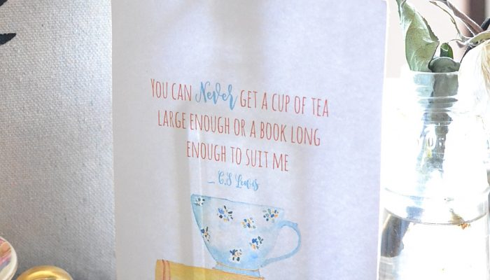 Cuddle Up Cozy Teatime Giveaway