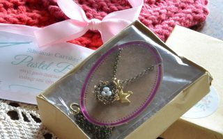 Nest Necklace From Pastel Barn Giveaway