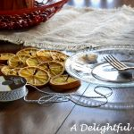 Orange Garland and Joy to the World Advent Book {Pages and Projects}