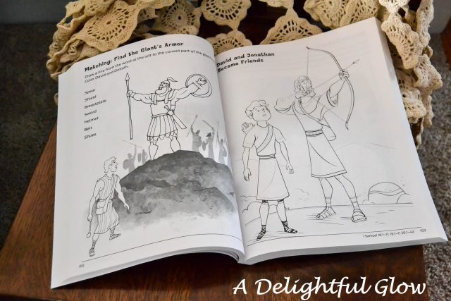 Pages and Projects {Bible Story Coloring & Activity Book} ⋆ A ...