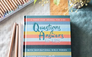 Pages and Projects {Q&A For Kids Journal}