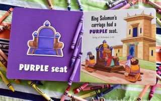 Numbers and Colors in the Bible Board Books Giveaway