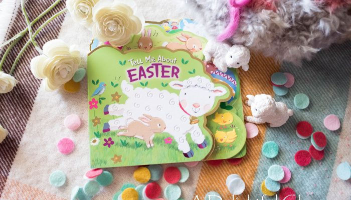 Pages and Projects {Simple Organizing and Tell Me About Easter}