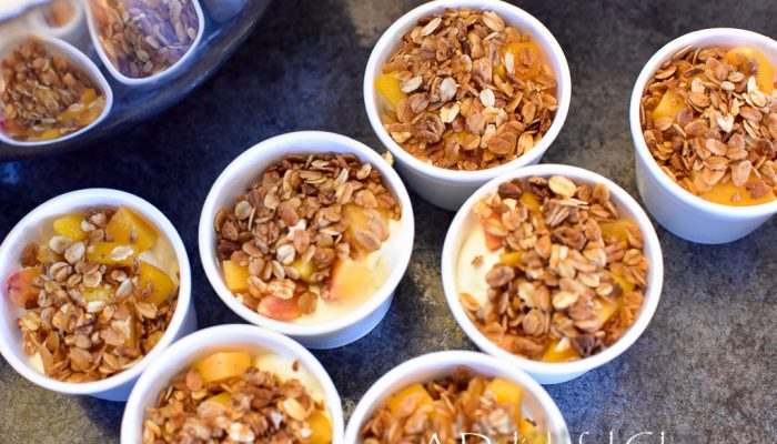 Yummy Fruit and Granola Yogurt Parfaits