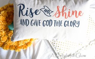 Celebrating with a Rise and Shine and Give God the Glory Giveaway