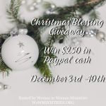 Christmas Blessing Giveaway 2018
